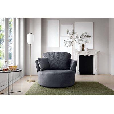 Chicago Swivel Chair - color Dark Grey - ABAKUS DIRECT