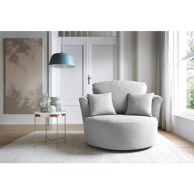 Darcy Swivel Chair - color Light Grey