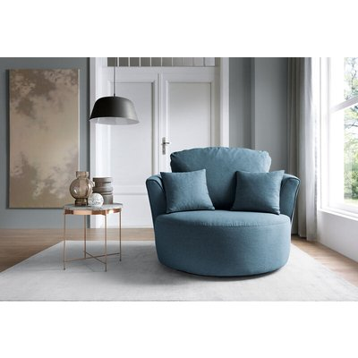 Darcy Swivel Chair - color Teal