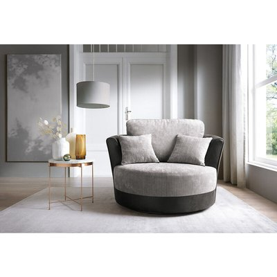 Dylan Swivel Chair - Black - color Black