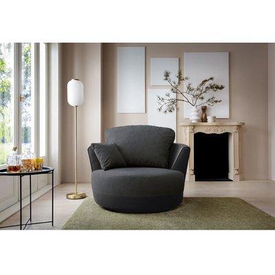 Dylan Swivel Chair - Black - color Black - ABAKUS DIRECT