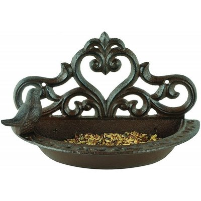 Esschert Design Bird Feeder Brown Cast Iron BR26 - FALLEN FRUITS