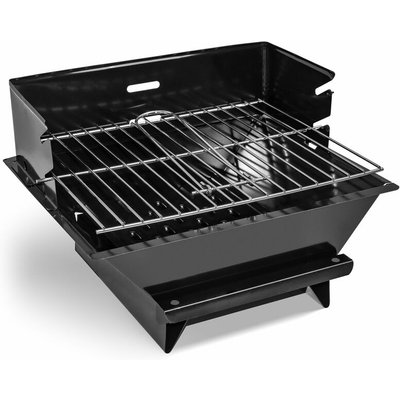 MiniGrill - Table-top charcoal or wood BBQ with 30x25 cm grate - Frankystar