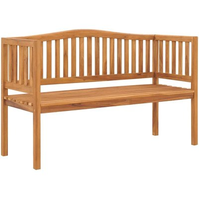 Garden Bench 150 cm Solid Teak Wood - VIDAXL