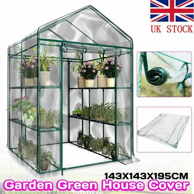 Mohoo - Greenhouse Cover Protection Plants PVC Transparent Garden Greenhouse Anti Frost Ice Anti Rodent Insect Case