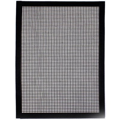 Grill Mesh Mat Non-Stick Barbecue Mesh Mat Reusable Heavy Duty BBQ Grill Mat Covers, White , 1 piece - ASUPERMALL