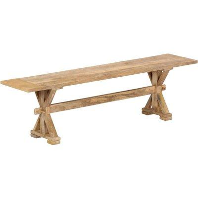 Hall Bench 160x35x45 cm Solid Mango Wood - VIDAXL