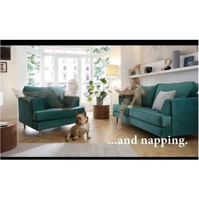 Harper Armchair - color Heather Rose