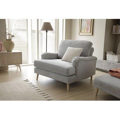 Abakus Direct - Harper Armchair - color Light Grey