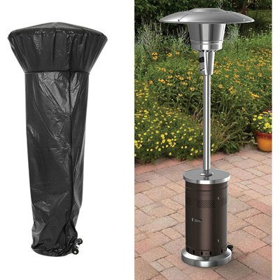 Livingandhome - Heavy Duty Garden Patio Heater Rain Cover Polyester Waterproof Protector 180cm