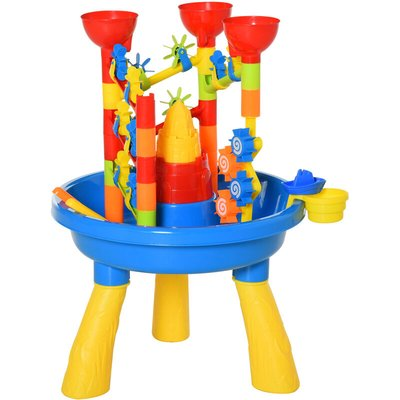 30 Pcs Sand & Waterpark Play Set Beach Creative Toy Set Outdoor Activity - Homcom