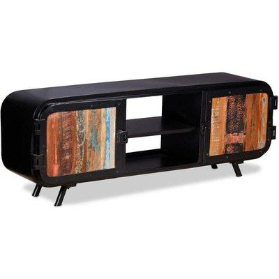 TV Cabinet Reclaimed Wood 120x30x45 cm VD10218 - Hommoo