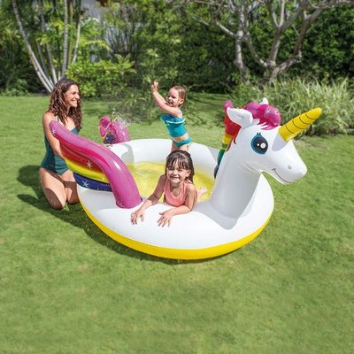 Intex 57441 Unicorn Inflated Paddling Pool for Children