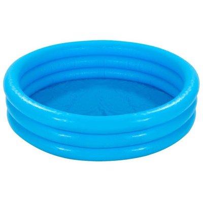 Crystal Blue Three Ring Inflatable Paddling Pool 58' x 13' 58426NP - Intex