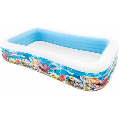Intex Swim Center Family Pool 305x183x56 cm Sealife Design