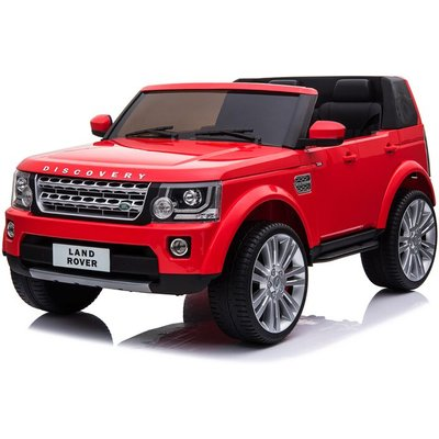 Land Rover Range Rover - Kids Electric Ride On Car Land Rover Discovery Twin Seat Red