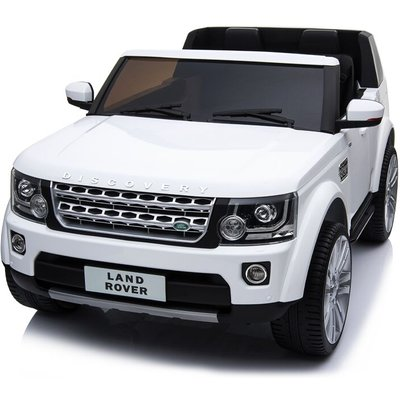 Land Rover Range Rover - Kids Electric Ride On Car Land Rover Discovery Twin Seat White