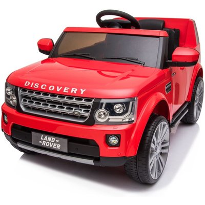 Land Rover Range Rover - Kids Electric Ride On Land Rover Discovery 12v Single Seat Red