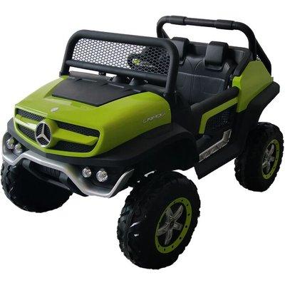 Kids Ride On UniMog - 12V Green - Mercedes-benz