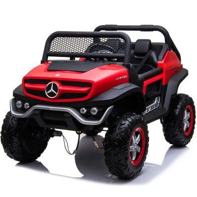 Kids Ride On UniMog - 12V Red - Mercedes-benz