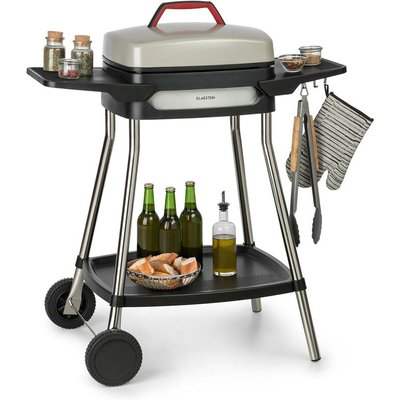 Gatsby Electric Grill 2000W Non-Stick Grill Surface Beige / Black