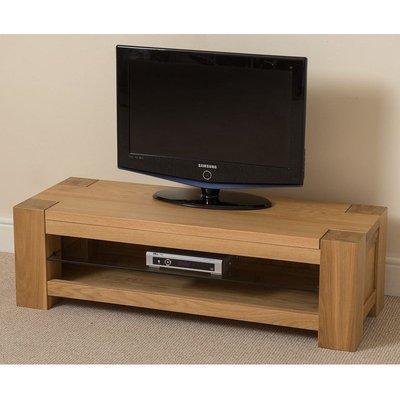 Kuba Solid Oak Widescreen TV Cabinet [Small]