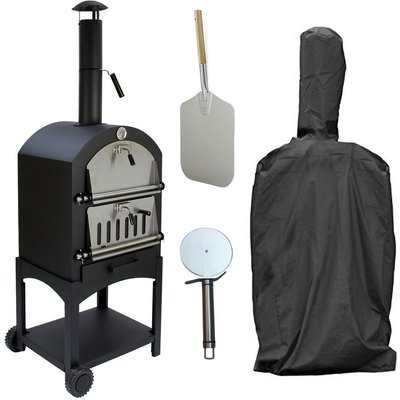 Outdoor Pizza Oven & Cover - Kukoo