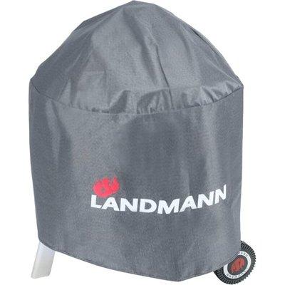 Barbecue Cover Premium Round 70x90 cm 15704 - Grey - Landmann