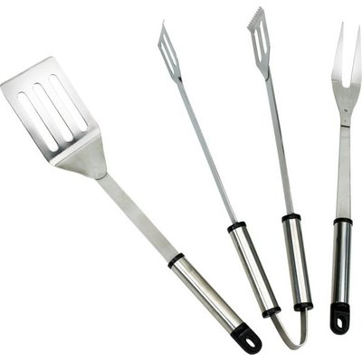 Landmann Stainless Steel Barbecue Tool Set (3 Pieces)