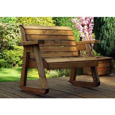 Little Fella's Bench Rocker, children's wooden garden furniture, fully assembled - CHARLES TAYLOR