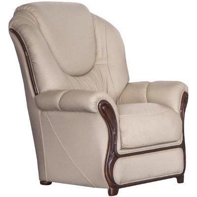 Mississippi Armchair Genuine Italian Sofa Leather
