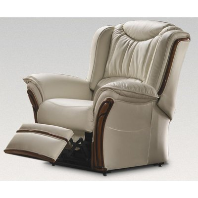Designer Sofas 4 U - Montana Electric Recliner Armchair Sofa Genuine Italian Leather Offer