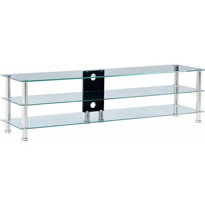 """Orpington TV Stand for TVs up to 50"""" by Ivy Bronx - Transparent"""