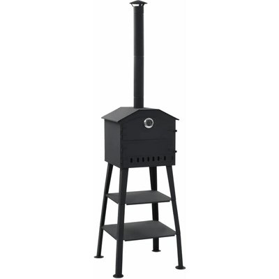 Youthup - Outdoor Pizza Oven Charcoal Fired with 2 Fireclay Stones