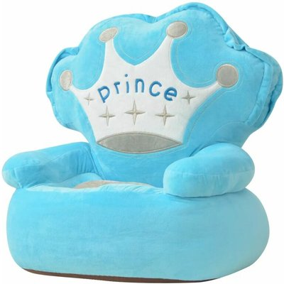 Youthup - Plush Children's Chair Prince Blue