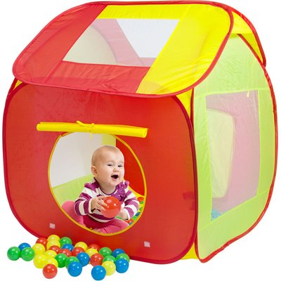 Kids Ball Pit with 200 Balls Toddler Baby Playhouse Playing Playpen Pool Indoor Outdoor Toys Gift Children - Spielwerk