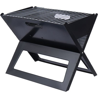 Kingso - Portable Foldable Charcoal Barbecue Grill Stove Outdoor Garden Camping Picnic Hasaki