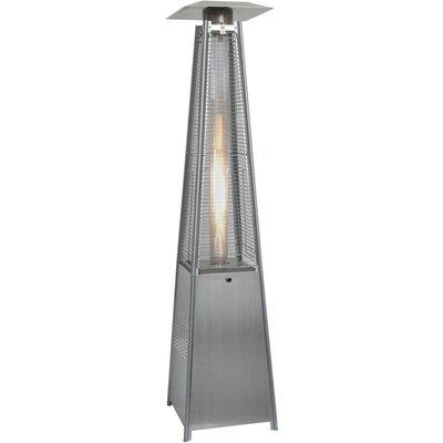 Littleborough Furniture - Quartz Glass Tube Real Flame 13KW Gas Garden Outdoor Patio Heater