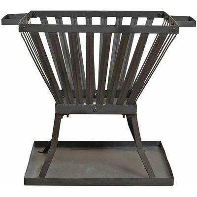 Red Fire - RedFire Fire Basket Denver Black Steel 39x39 cm 85015 - Black