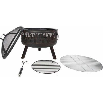RedFire Fire Pit Blazer Bronze Steel - Brown