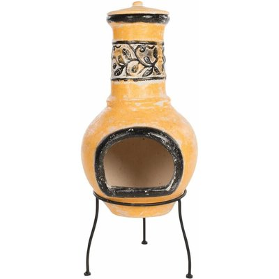 Red Fire - RedFire Fireplace Soledad Clay Yellow/Black 86035 - Multicolour