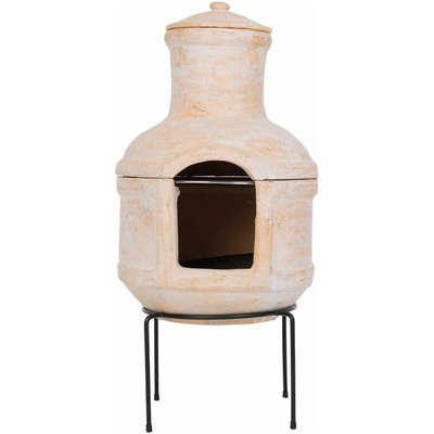 RedFire Fireplace Lima with Grill Clay Straw - Multicolour