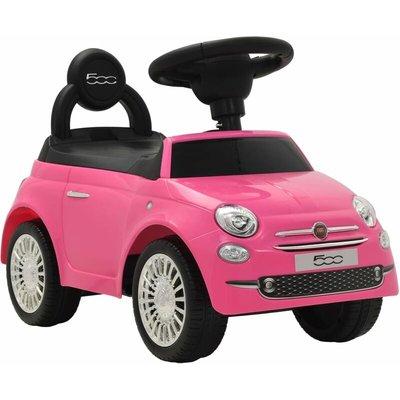 Zqyrlar - Ride-on Car Fiat 500 Pink - Pink