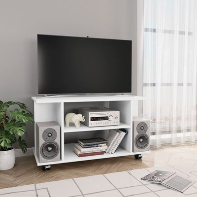 Rubalcava TV Stand for TVs up to 40' by White - Ebern Designs