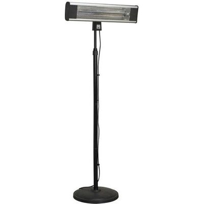 IFSH1809R 1800W High Efficiency Carbon Fibre Infrared Patio Heater with Telescopic Floor Stand - Sealey