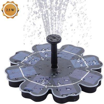 Langray - Solar Fountain Pump 2.5W Solar birdbath Fountain Submersible Pond Pump Outdoor Water Feature for Bird Bath,Garden Fountain,Small Pond and