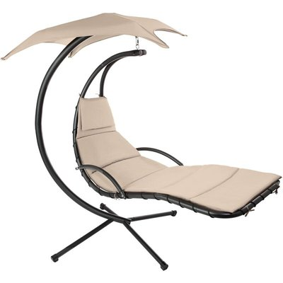 Hanging chair Kasia - garden swing seat, garden swing chair, swing chair - beige