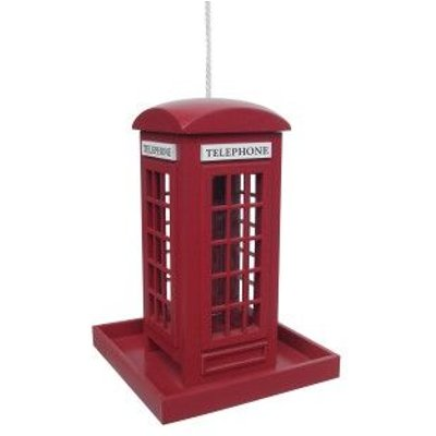Deco-pak - Traditional Red Telephone Box Feeder