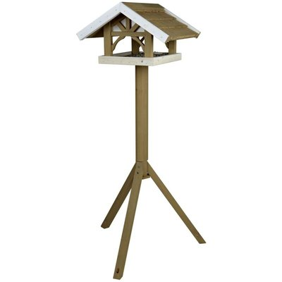 Standing Bird Feeder Natura 45x28x44 cm Brown 55802 - Trixie