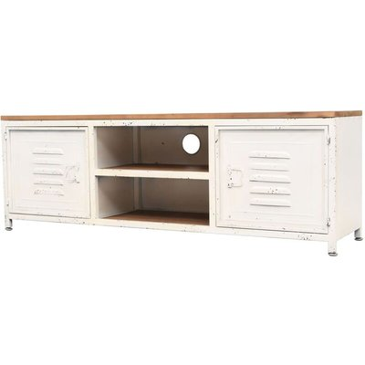 vidaXL TV Cabinet 120x30x40 cm White - White